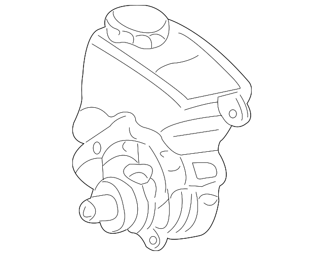 1997 2005 Gm Power Steering Pump 26086097