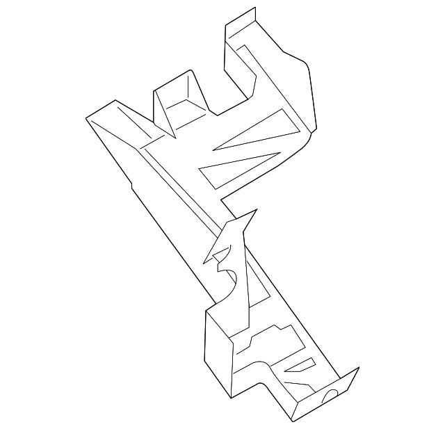 2015 2018 Ford Bracket Bk2z 14a254 A