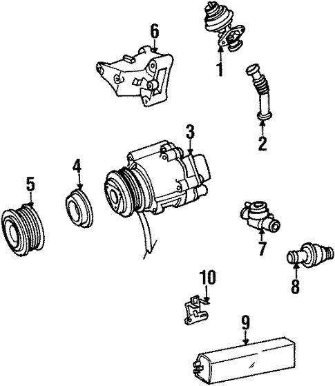 A.I.R. System for 1992 Mercedes-Benz 400 E #0