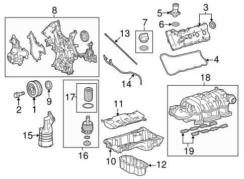 ENGINE/ENGINE PARTS for 2015 Toyota Tundra #1