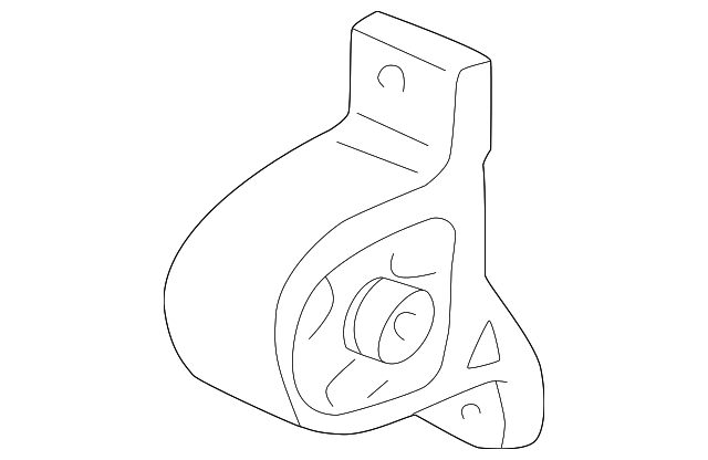 genuine honda front mount 50840