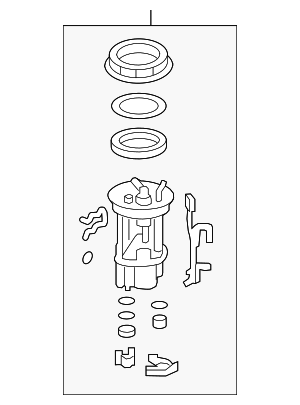 Filter Set, Fuel - Honda (17048-TM8-L30)