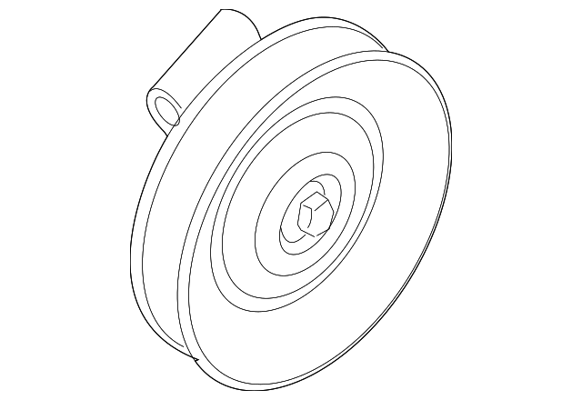 Idler Pulley Ford 8l8z 3f671 A