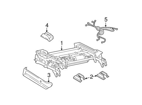 oem 2003 chevrolet monte carlo tracks components parts. Black Bedroom Furniture Sets. Home Design Ideas