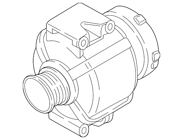 Audi Q7 Alternator Wiring