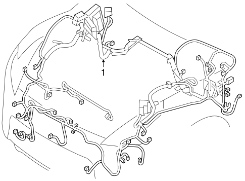 Wiring Harness For 2013 Nissan 370z