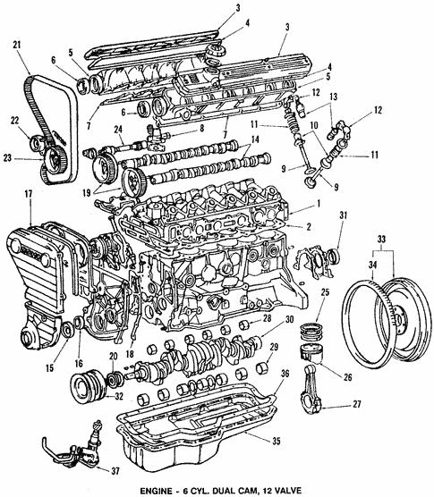 Engine for 1985 Toyota Celica | Toyota Parts Center