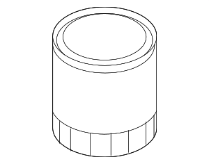 Oil Filter - Ford (BE8Z-6731-AB)
