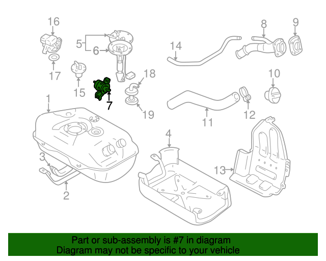 Diagram Of Fuel Filter