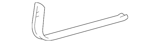TOYOTA Genuine 67918-48010-A0 Door Scuff Plate