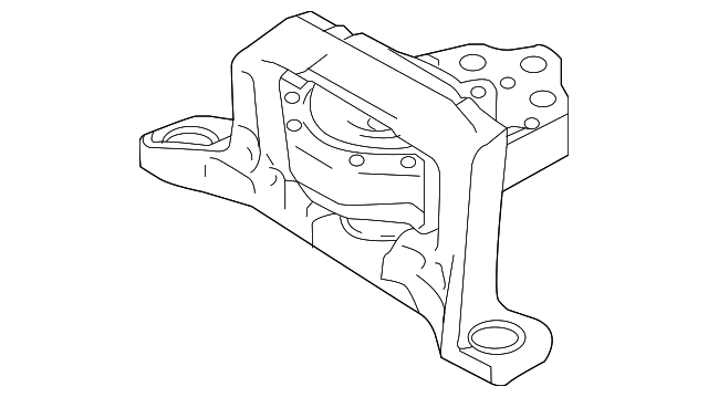 Ford Focus Engine Drawing