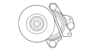 Accessory Drive Belt Tensioner Assembly - Nissan (11955-EZ30A)