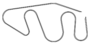 Serpentine Belt - Nissan (11720-EZ30A)