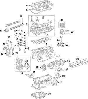 Genuine Hyundai 24200-3C950 Camshaft Assembly Left