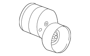 Belt Tensioner - Ford (F6DZ-6B209-DA)