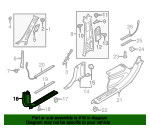 Front Sill Plate - Volvo (39838886)