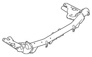 Trailer Hitch - Land-Rover (LR083077)