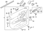 Belt Weather-Strip - Ford (BB5Z-7821457-A)