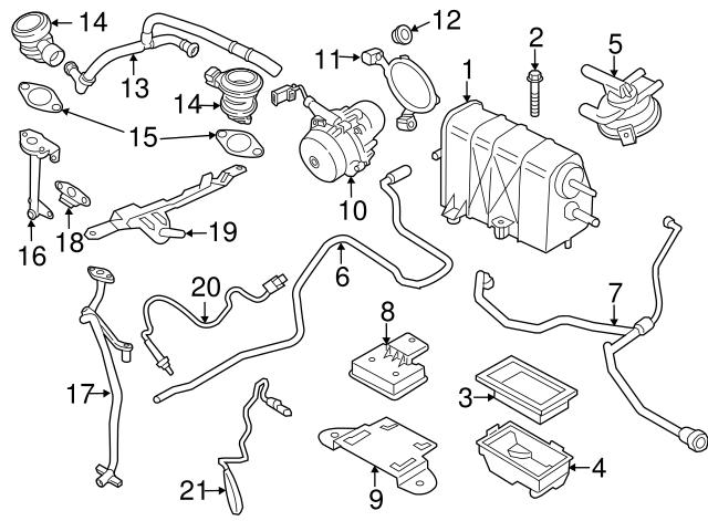 2014 2018 Porsche 911 Ft Oxygen Sensor 9a1 606 188 01