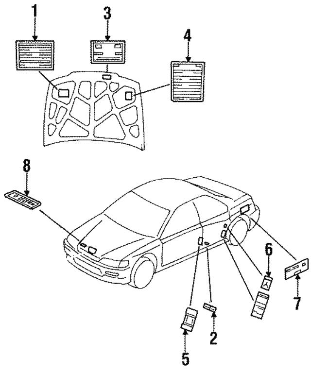 2000 Honda Prelude Obd Connector Location