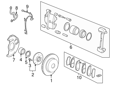 Bearing Assembly, Hub (Ntn)