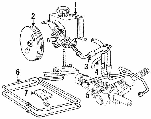 Volvo Power Steering Pump 8251727