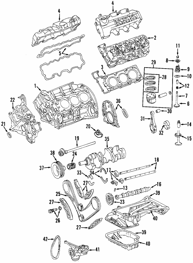 Timing Chain - Mercedes-Benz (003-997-68-94)