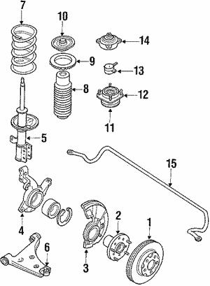 Mazda G037-26-251C Disc Brake Rotor