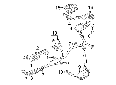 Mazda 6 Exhaust Diagram