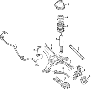 Shock Absorber - Ford (6G1Z-18125-F)