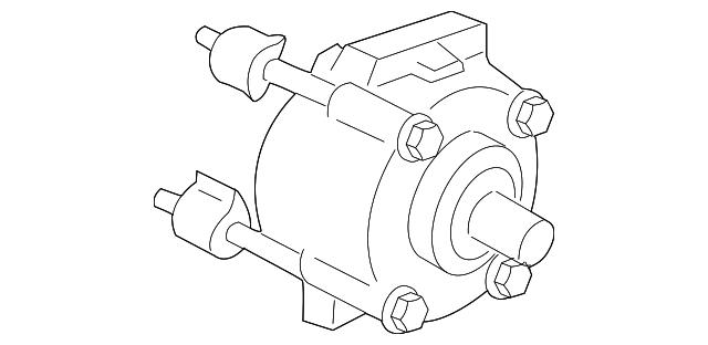 Genuine Ford Compressor Assembly 4r3z 19703 A