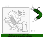 Inlet Duct - Toyota (17881-22030)