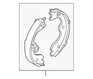 Park Brake Shoes - Nissan (D4060-JN00A)