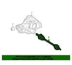 Axle Assembly - Mercedes-Benz (164-350-34-10)