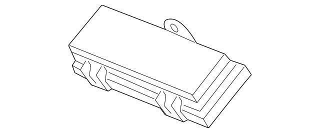 cover, sub-fuse box (upper) - honda (38232-tg7-