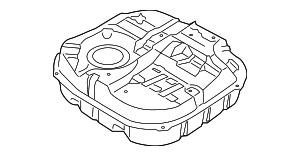 Genuine Hyundai 31120-2H000 Fuel Tank Protector