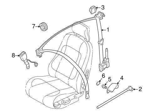 Volvo C70 Convertible Part Diagram