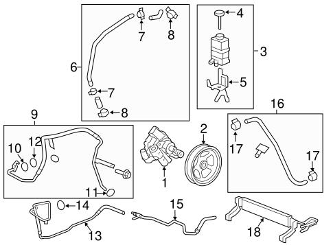 pump hoses parts for 2012 chevrolet traverse. Black Bedroom Furniture Sets. Home Design Ideas