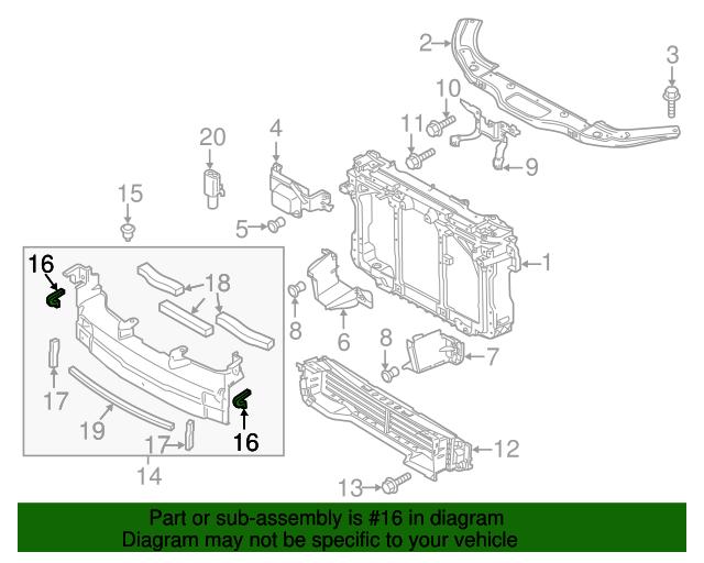 Genuine Mazda Air Guide BADE-50-1C0A