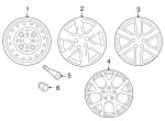 Wheel, Steel - Nissan (40300-8J007)