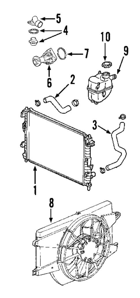 2002 saturn vue engine cooling system diagram  pietrodavico