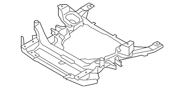 2007 2014 Bmw Engine Cradle 31 11 6 779 358
