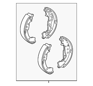 Brake Shoes - Toyota (04495-74030)