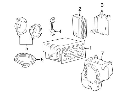 Sound System For 2010 Chevrolet Cobalt