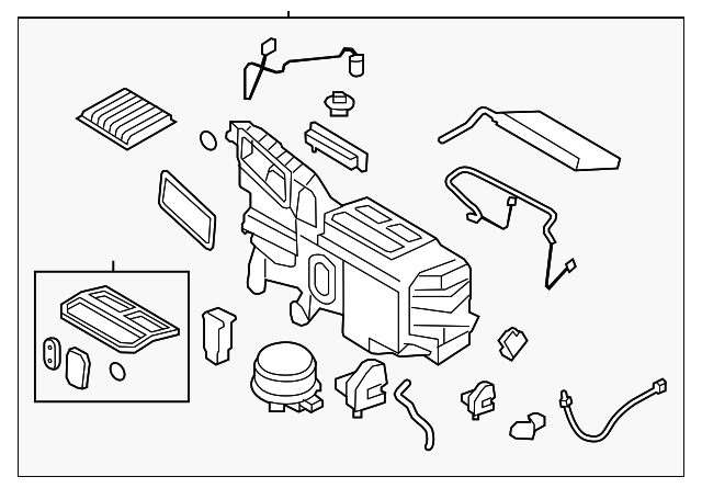 ford edge lincoln mkx air conditioning evaporator  2007 mkx ac diagram #12