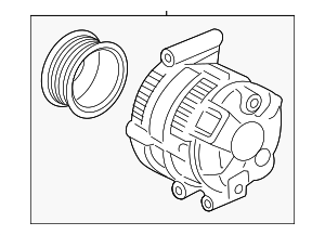 Alternator Assembly (RMD) (Denso) - Acura (31100-5X6-J01RM)