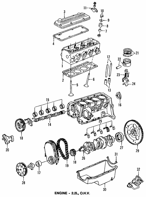 2004 2 2 Ecotec Engine Diagram