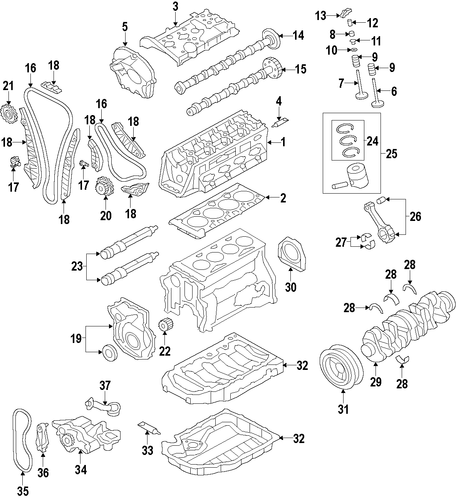 oem vw timing chains