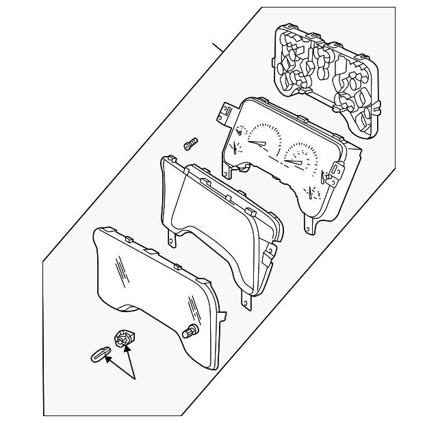 Instrument Cluster Mopar 56009170ab Mymoparparts