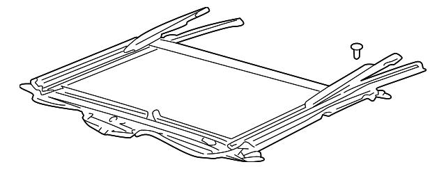 sunroof frame